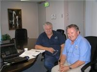 Right Family Parks Director Ray Octigan & ContACT MD Graham Wallace