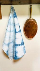 Pure Hemp Tea Towel - Indigo
