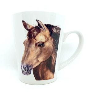 artbrush mug 'Henry Horse'