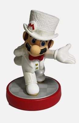 Nintendo amiibo  Mario. Wedding outfit Super Mario Series