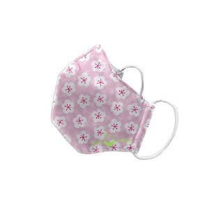 green sprouts Reusable Face Mask Child-Pink Blossoms