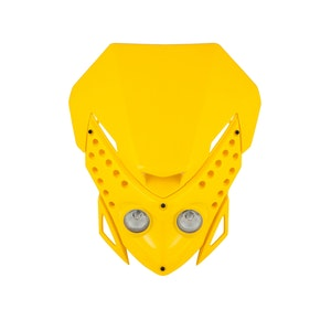 Viper Motocross Front Headlight - Yellow