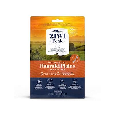 ZiwiPeak ZIWI Peak Provenance Air Dried Dog Food Hauraki Plains 140G