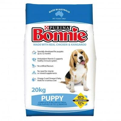 Bonnie Puppy Dry Dog Food 20kg