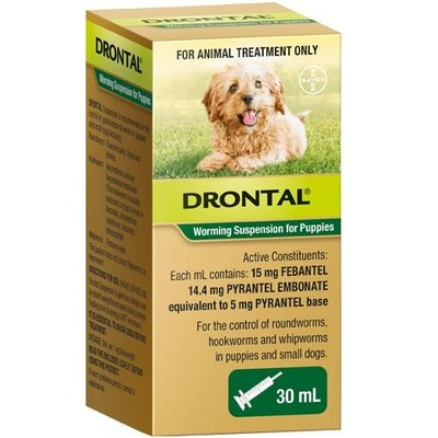 Drontal Puppy Worming Syrup 30mL