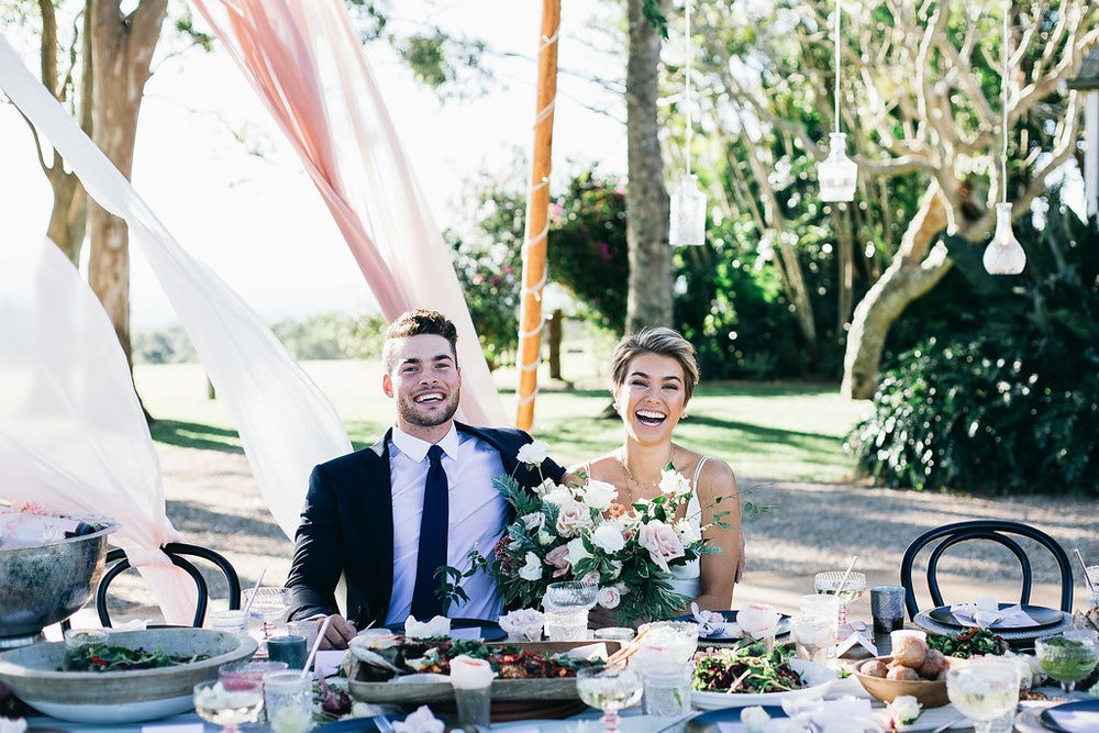 Three Blue Ducks New South Wales Wedding Catering