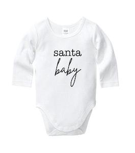 Santa Baby Onesie