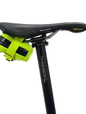 skingrowsback Plan B Micron Saddle Bag Neon Yellow