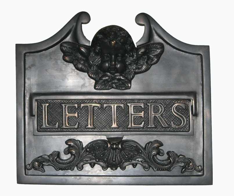 Domino Traditional Bronze Letterbox Front Letterbox Face Plates For Sale In Ascot Vale