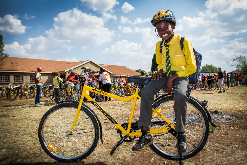 Qhubeka - Communities Powered by Bikes