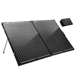 ATEM POWER ATEM POWER 200W 12V Folding Solar Panel Kit Mono Caravan Camping Power Charge