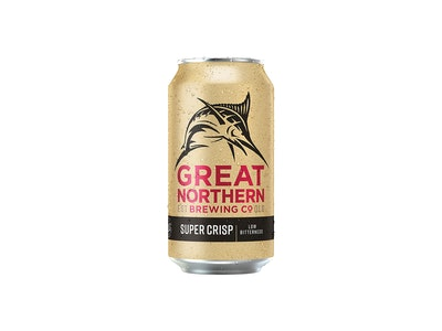Great Northern Super Crisp Lager Can 375mL