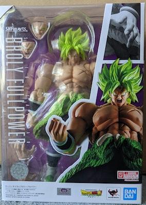Tamashii Nations SH Figurearts Dragon Ball Super - Super Saiyan Broly Full Power Figure