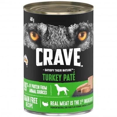 CRAVE Adult Turkey Pate Wet Dog Food 100G