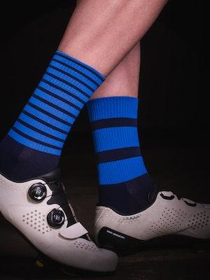 TIC CC bloc socks Mono blue