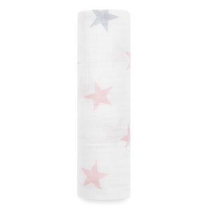 aden doll - stars single swaddle
