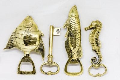 brass bottle openers