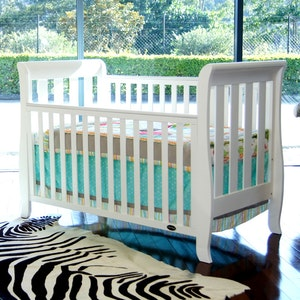 Babyhood Classic Sleigh Cot