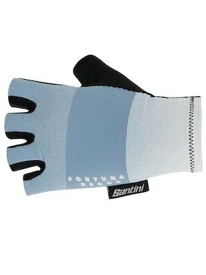 Santini Fortuna Gloves Silver Bullet