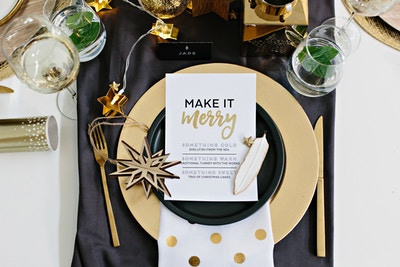 #MakeItMerry with Spotlight: Setting the Perfect Table DIY
