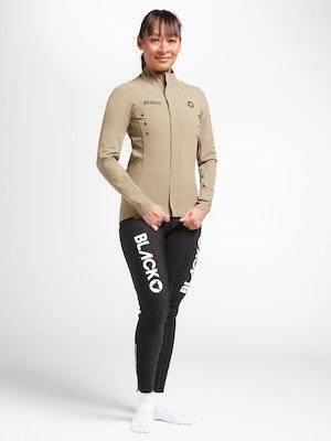 Black Sheep Cycling Women's Elements Micro Jacket - Sand