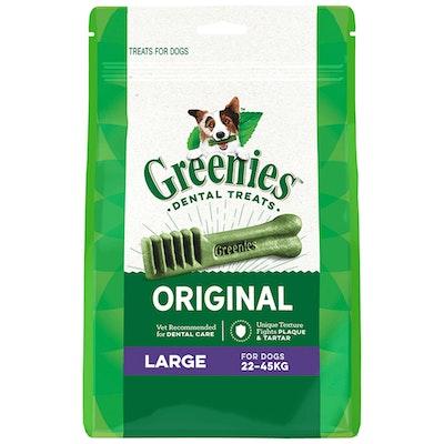 Greenies Original Large Dogs Dental Treats 22-45kg - 3 Sizes