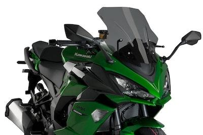 Puig Racing Screen To Suit Kawasaki Z1000SX/Ninja 1000 SX (Dark Smoke)