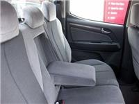 Plush rear seating in Crew Cab LTZ pickup