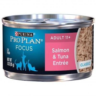 Pro Plan Focus 11+ Senior Salmon & Tuna Entree Wet Cat Food 85G