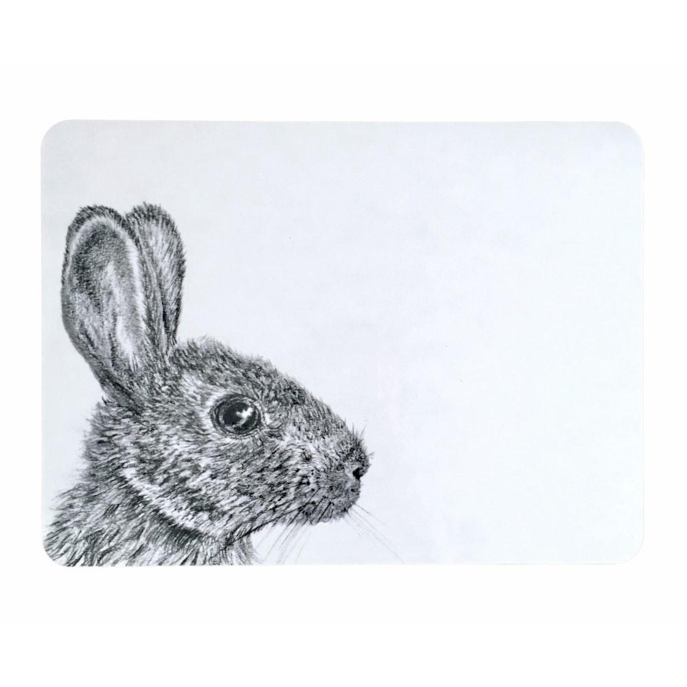 Bruce Bramfield Wild Rabbit Placemats - Set Of Two
