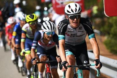 Schultz en la Fuga por su Mejor Ranking en Etapa de Grand Tour Llevándose el 7mo Lugar