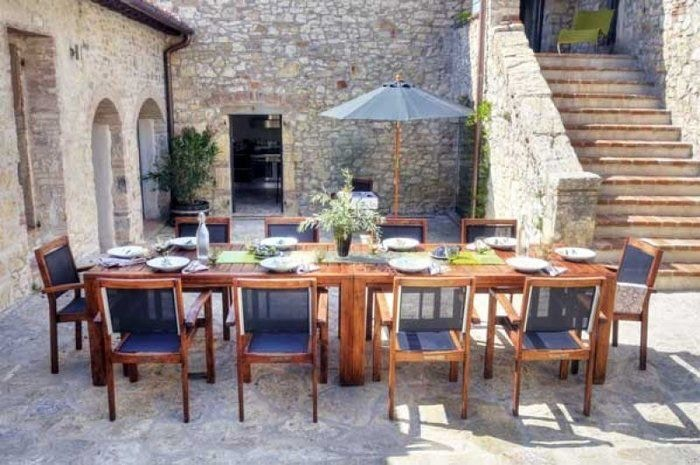 Choosing the right outdoor dining setting