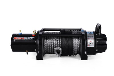 11XP PREMIUM 12V with Synthetic Rope - full IP67 protection
