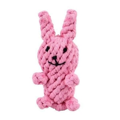 Big & Little Rabbit Rope Dog Toy