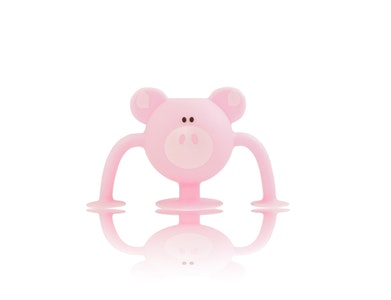 Silicone Suction Baby Bath Toys 1pk - Poppy Pig - Zoo Collection