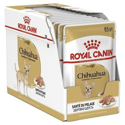 Royal Canin Dog Wet Food Chihuahua Pouch 12x85g