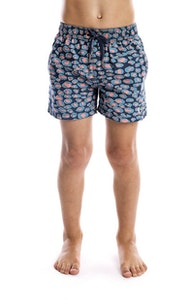 Beau Hudson Leopard Swim Shorts