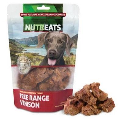 NUTREATS Free Range Venison Dog Treats 50G
