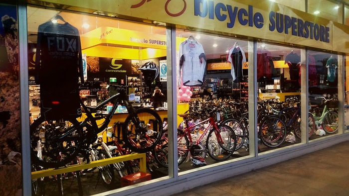 Bicycle superstore Geelong