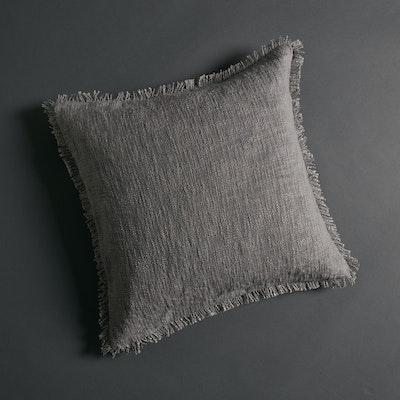 Global Sisters Shop Soft Khadi Cushion Cover - Dove Grey