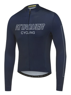 Attaquer All Day Outliner Long Sleeved Jersey Navy