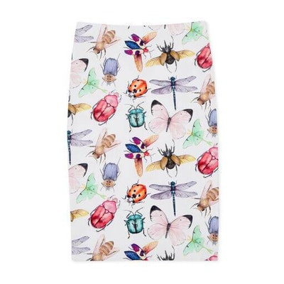 Pebble and Poppet Insects Skirt