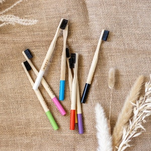 Us and the Earth Natural Bamboo - Eco Friendly Toothbrushes set of 2
