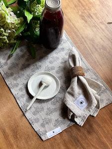 'Farmhouse' Block Printed Linen Placemats