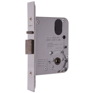 Lockwood Synergy 3572 Universal Primary Mortise Lock 60mm Backset Finished in Satin Chrome