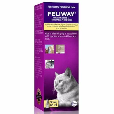 Feliway Calming Travel Spray For Kittens & Cats 60ml