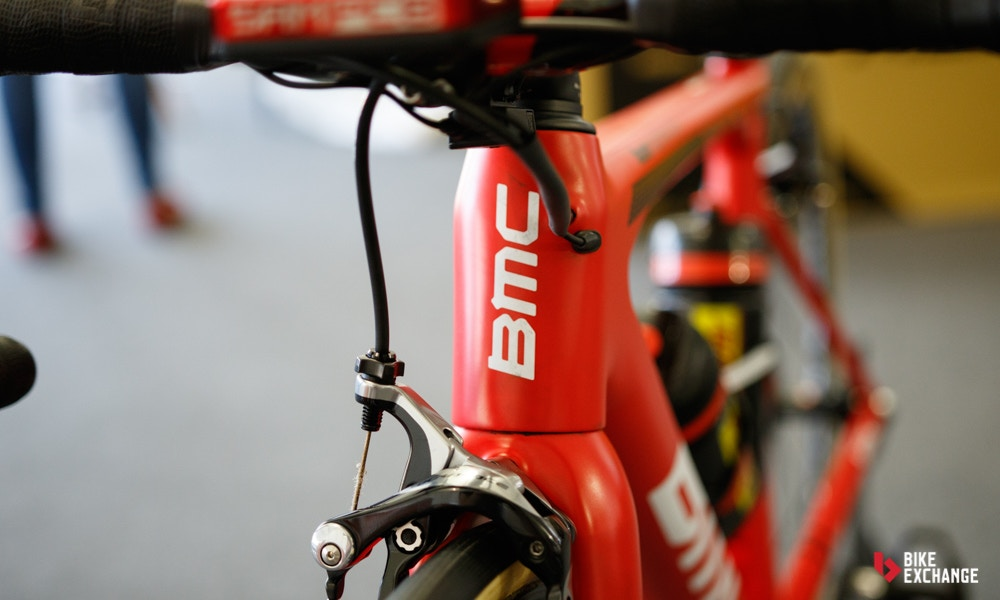 Pro bike richie porte 39 s bmc teammachine slr 01 for Richie porte and bmc