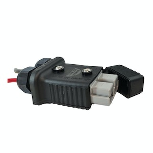 Trailer Vision 175 amp Anderson Plug Cover Assembly with LED Power Indicator