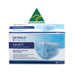 Australian Made Level 3 Surgical Mask (standard ear loop or short ear loop) - Carton of 960 masks