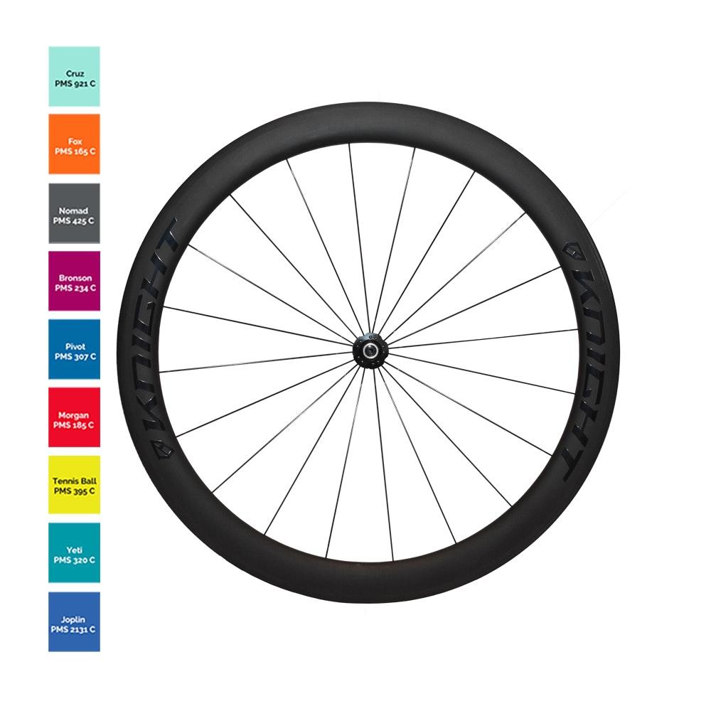 Knight 50 Clincher Tla Custom Color 2018 Wheel Sets For Sale In Schwalbe Pro One 700 25 C